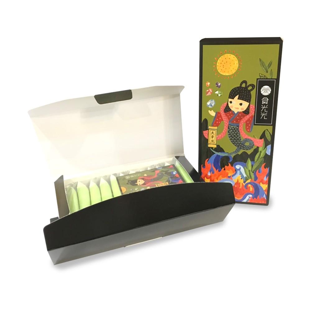 【茶食光光】玉山焦糖烏龍茶煎餅 (12入盒裝)