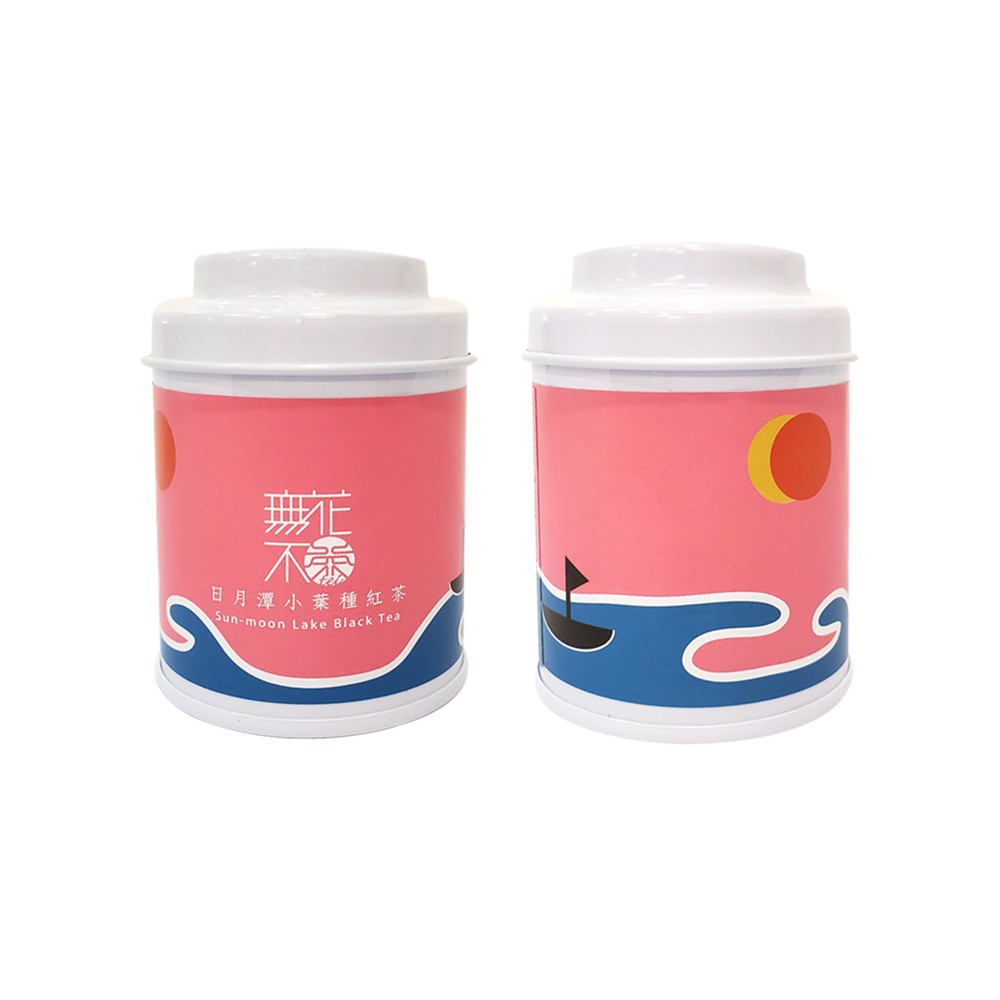 【無花不茶】經典原味茶:日月潭小葉種紅茶—3g三角茶包*3入精緻罐裝