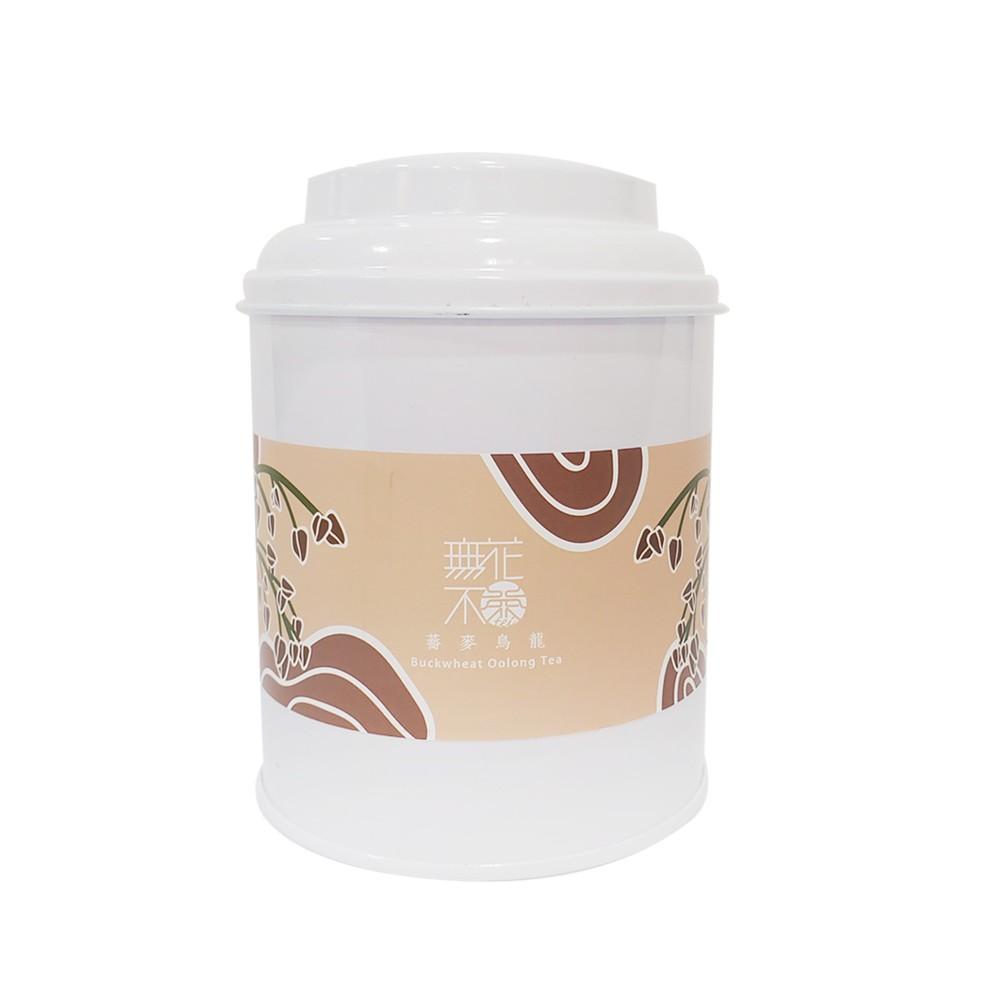 【無花不茶】花入烏龍:蕎麥烏龍—3g三角茶包*10入鐵罐裝