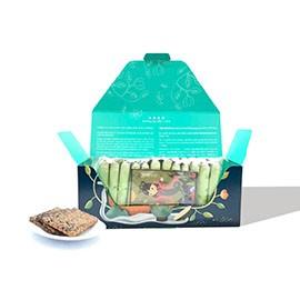 【茶食光光】玉山焦糖烏龍茶煎餅 (12入盒裝)【中秋限定包裝】_(出貨:年後)