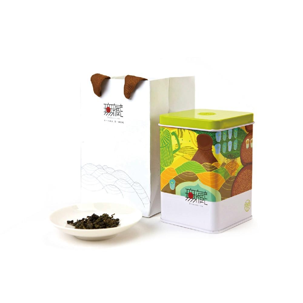 【無藏故事茶】阿里山100g方鐵罐裝