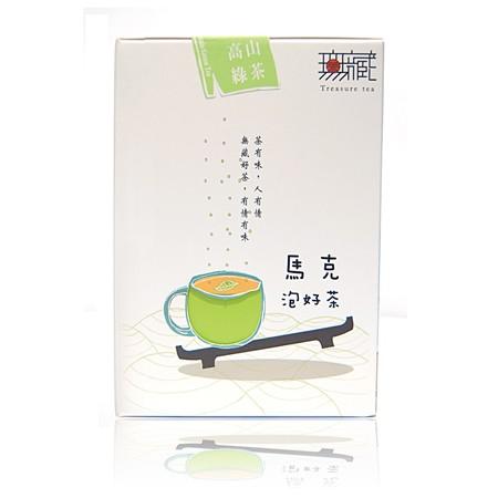 【無藏故事茶】阿里山金萱綠茶 6g充氮包 (10入盒裝)