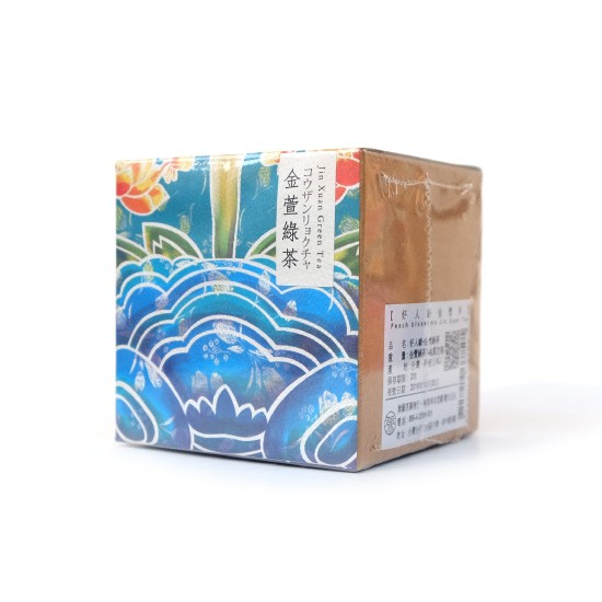 【無藏好人緣桃眼獅金萱茶】金萱綠茶 18g裝─霧峰林宅聯名開發