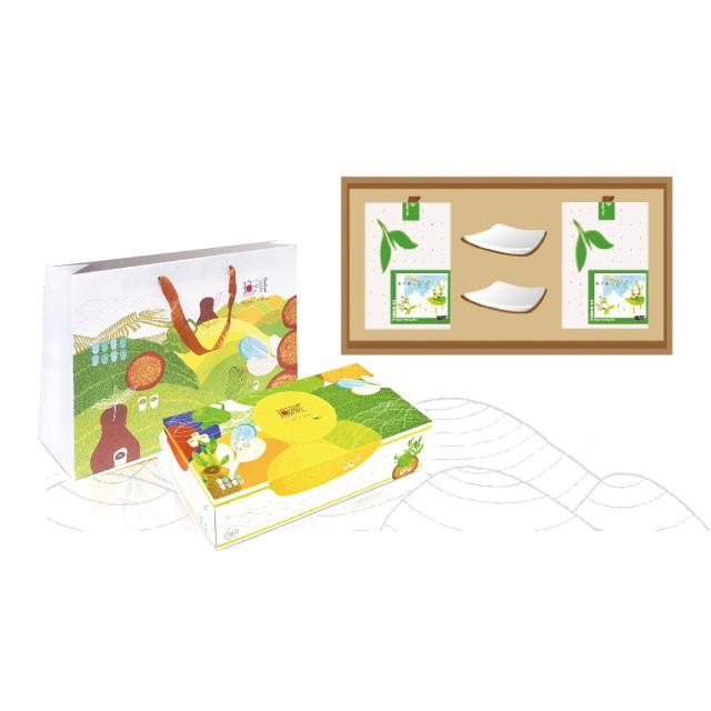 【客製化禮盒】無藏經典客製化-白瓷茶托茶器禮盒