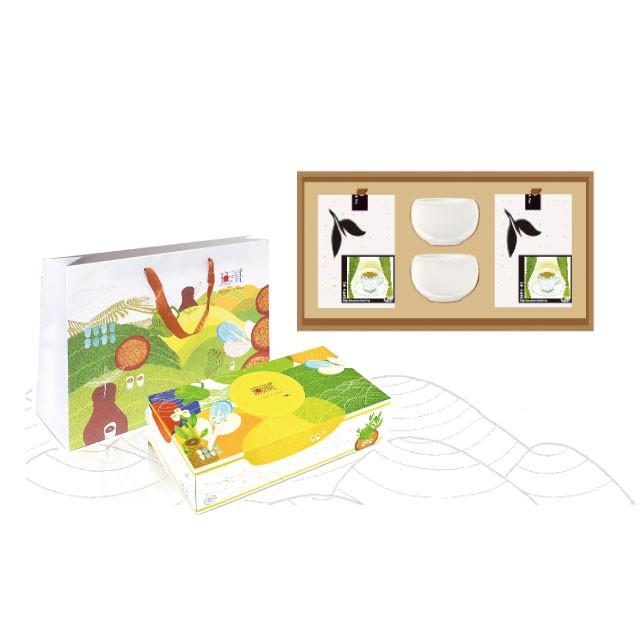 【客製化禮盒】無藏經典客製化-雙層玻璃杯茶器禮盒