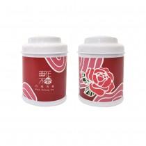 【無花不茶】花入烏龍茶:玫瑰烏龍—3g三角茶包*3入精緻罐裝