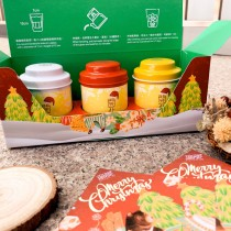 【限定款聖誕禮物】無藏會開花的茶 - 3入精緻禮盒 交換禮物