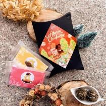 【限定款聖誕禮物】無藏茗茶 - 開花茶 2入裸包派盒禮 交換禮物