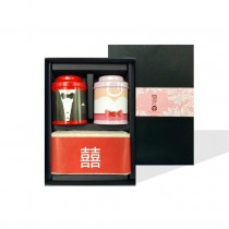【無藏嚴選】婚禮小物-開花茶米禮盒組