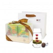 【無藏嚴選】會開花的茶-禮盒組 (2罐各10入) (每罐5款花型各2顆)