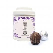 【無藏嚴選】會開花的茶--單入精緻罐裝(六款花型可選擇)