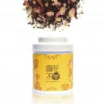 【無花不茶】花入紅茶—3g三角茶包*3入精緻罐裝