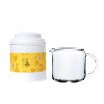 【簡單泡茶組】觀井茶海 280ml+30g玫瑰紅茶