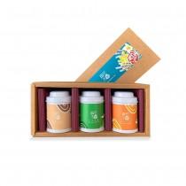 【無花不茶】3款花茶禮盒─桂花紅茶+凍頂烏龍+蕎麥烏龍