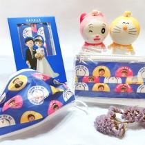 【上好生醫】Doraemon_結婚系列H_親子款 / 醫療口罩 / 10入盒裝 / MD雙鋼印