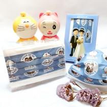 【上好生醫】Doraemon_結婚系列I_親子款 / 醫療口罩 / 10入盒裝 / MD雙鋼印