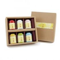 【無藏】會開花的茶--6入罐裝精緻禮盒組(六款花型各一罐,不重複)