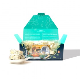 【茶食光光】阿里山高山烏龍茶牛軋糖 (300g/盒裝)【中秋限定包裝】_(出貨:年前)
