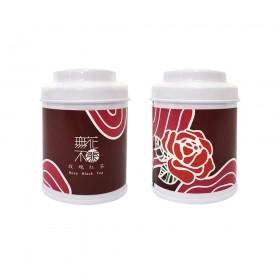 【無花不茶】花入紅茶:玫瑰紅茶—3g三角茶包*3入精緻罐裝