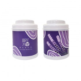 【無花不茶】花入紅茶:薰衣草紅茶—3g三角茶包*3入精緻罐裝