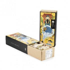 【茶食光光】阿里山高山烏龍茶牛軋糖 (300g/盒裝)_(出貨:年前)